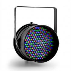 Lightcraft Monroe, LED PAR64 reflector, DMX 181RGB LED-uri negru