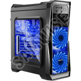 Calculator GAMING GANK II, Intel Core i7 930 2.8GHz(up to 3.06 Ghz), 8GB DDR3, HDD 1TB, GT 640 1GB DDR5, Sirtec 400W, DVD-RW - Sisteme desktop fara monitor