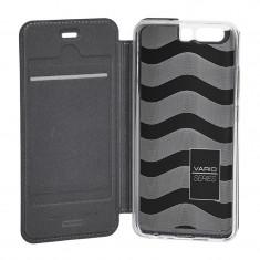 Husa de piele book Nevox Vario Huawei P10 Basalt Grey