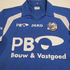 Tricou fotbal - FC DEN BOSCH (Olanda) cu autografe originale - Tricou echipa fotbal, Marime: M, Culoare: Din imagine, De club, Maneca scurta