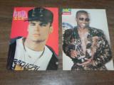 Lot 2 carti postale colectie  Vanilla Ice si MC Hammer rockland arta grafica, Necirculata, Printata