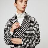 Palton lana Mango nou