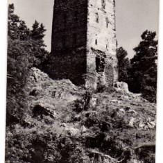 ORASUL STALIN TURNUL NEGRU - Carte Postala Transilvania dupa 1918, Circulata, Fotografie