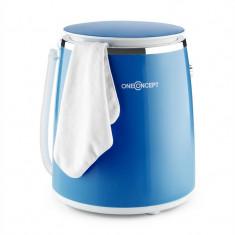 ONECONCEPT ECOWASH-PICO, albastră, mini mașină de spălat, funcția de stoarcere, 3, 5 kg, 380 W - Masina de spalat rufe