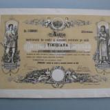 "Actiunea ""Timisiana"" Timisoara 200 Coroane 1910"