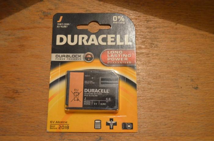 Baterie 6V Duracell 4Lr51