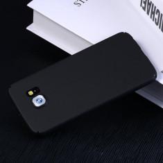 Husa Samsung Galaxy S7 Edge Slim Mata Black - Husa Telefon Samsung, Negru, Plastic, Fara snur, Carcasa