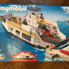 Playmobil Feribot cu debarcader si turisti (PM5127) 4-10 ani - Set de constructie, 4-6 ani