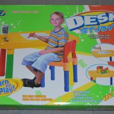 MASA ACTIVITATI CU SCAUN PENTRU COPII - Masuta/scaun copii