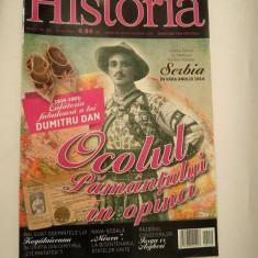 (D) -Revista Historia nr. 150 / iulie 2014, Ocolul Pamantului in opinci - Revista culturale