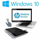 Laptop refurbished HP EliteBook Revolve 810 G3, i5-5200U, Win 10 Home