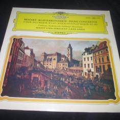 Mozart.Geza Anda - Konzert nr.15 B-dur KV 450 _ vinyl, LP - Muzica Clasica Deutsche Grammophon, VINIL