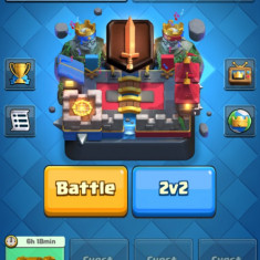 Cont Clash Royale in Challenger I - Joc PC Supercell