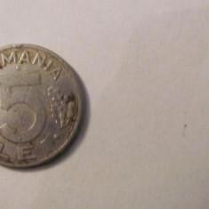 CY - 5 lei 1993 Romania