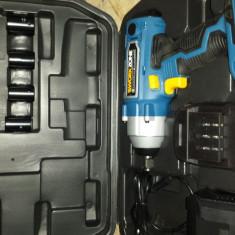 Pistol impact cu acumulator WORKZONE - Bormasina