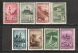 Ungaria.1947 Posta aeriana-Frumuseti turistice  SU.96.1, Nestampilat