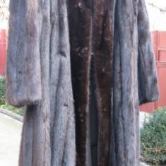 Blana de nurca de lux - SUA Javurek Furs (Illinois)/John Ross Originals - haina de blana