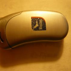 Bricheta marca Winston, dim. = 5, 2x 2, 2 cm, metal - Bricheta Cu Gaz