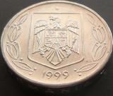Moneda 500 Lei - ROMANIA, anul 1999 *cod 2243  Allu, Aluminiu