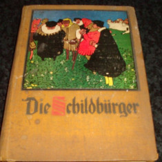 Die childburger - in germana caractere gotice - ilustratii alb negru si color, Alta editura