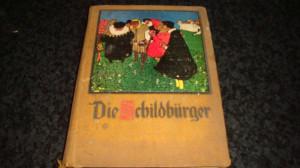 Die childburger - in germana caractere gotice - ilustratii alb negru si color