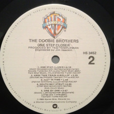 THE DOOBIE BROTHERS - ONE STEP CLOSER (1980/WARNER/USA) - Vinil/Vinyl/Analog
