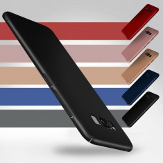 Husa Samsung Galaxy Note 8 Slim Mata Black - Husa Telefon Samsung, Negru, Plastic, Fara snur, Carcasa