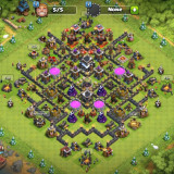 Cont Clash of Clans TH9. 4380 gems - Joc PC Supercell