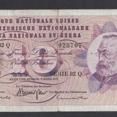Elvetia 10 francs 1973 2 - bancnota europa