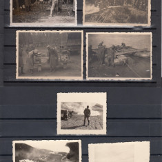 MILITARA LOT FOTOGRAFII MILITARE 1941 - Fotografie, Alb-Negru, Romania 1900 - 1950