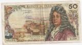 FRANTA 50 FRANCI FRANCS 1973 U
