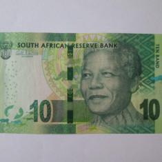Africa de Sud 10 Rand 2012 in stare foarte buna - bancnota africa