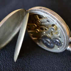 Ceas argint GALONNE anii 1890-1900 / Ceas buzunar argint / ceas vechi - Ceas de buzunar vechi