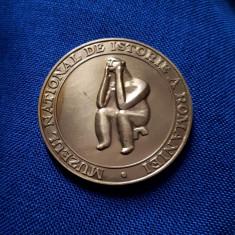 Medalie Muzeul national de istorie - Ganditorul de la Hamangia