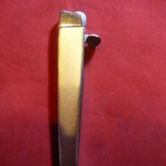 Bricheta marca Rubicon Coral, L= 8 cm, metal - Bricheta Cu Gaz