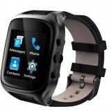 Smart Watch Phone X01S 1.54 inch 3G MTK6580 1GB RAM 8GB ROM GPS Pedometer, Otel inoxidabil