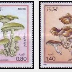 Algeria 1983 - Ciuperci, serie neuzata