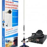 Kit Statie radio CB PNI ESCORT HP 8000 ASQ Antena CB PNI ML70
