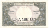 ROMANIA 1000 LEI 1945 AUNC