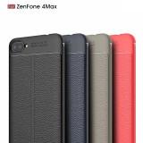 Husa / Bumper Antisoc model PIELE pt ASUS ZenFone 4 Max ZC554KL / 5.5'', Alt model telefon ZTE, Argintiu, Auriu, Negru, Roz