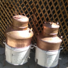 Cazane de tuica din cupru 120 litri - Cazan tuica