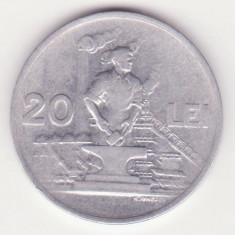 (MR94) MONEDA ROMANIA - 20 LEI 1951, REPUBLICA POPULARA ROMANA
