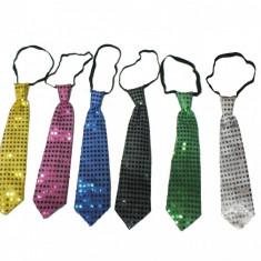 Cravata party cu paiete si leduri - diverse culori, Radar 17701