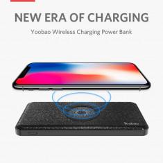 Baterie Externa cu incarcare wireless Yoobao W5 5000mAh Black
