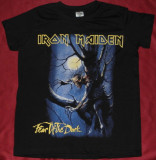 Tricou Iron Maiden - Fear of the Dark ,calitate 180 gr,inclusiv de copii XS,XXXL