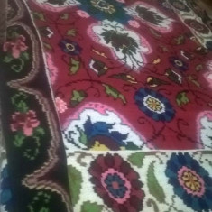 Covor taranesc din lana - Covor vechi