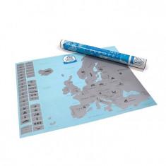 Harta Europei razuibila Am fost acolo cadou inedit calatori (Travel Map)
