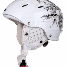 Grap Hockey Helmet – Women alb deco 54-57 - Casca ski Alpina, Femei