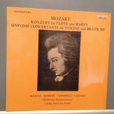 Mozart - Concert for Flute & Harp (1976/Sastruphon/RFG) - VINIL/Impecabil (NM) - Muzica Clasica Supraphon