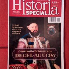 (D) - Revista Historia Special nr. 7 / iunie 2014, Brancoveanu, De ce l-au ucis? - Revista culturale
